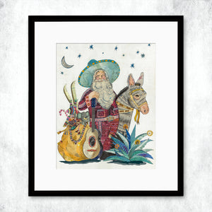 thumbnail for WHSL - Santa (2018) Art Print