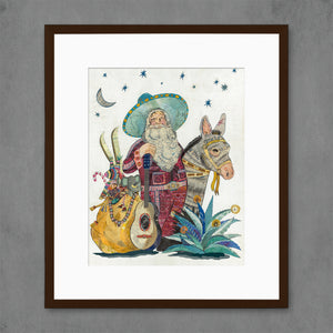thumbnail for 2018 Santa Claus Art Print