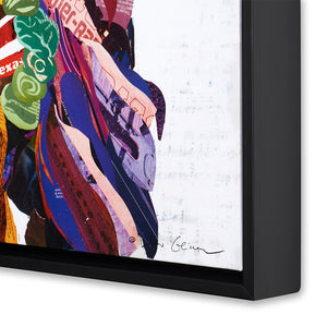 thumbnail for Señorita (Violet) Canvas Art Print with Float Frame