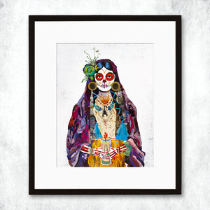 thumbnail for WHSL - Señorita (Violet) Art Print