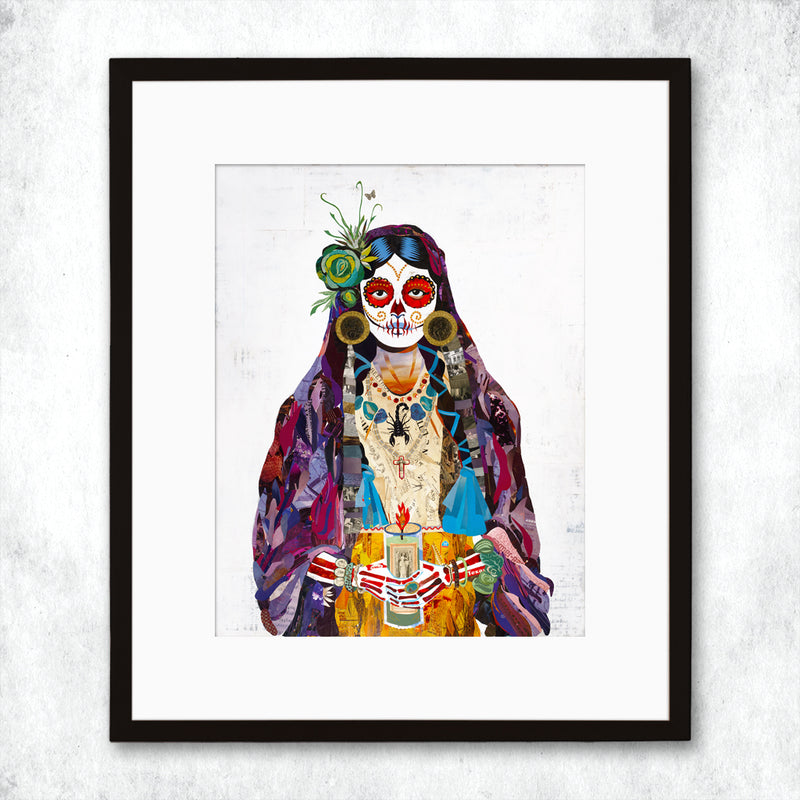 main image for WHSL - Señorita (Violet) Art Print