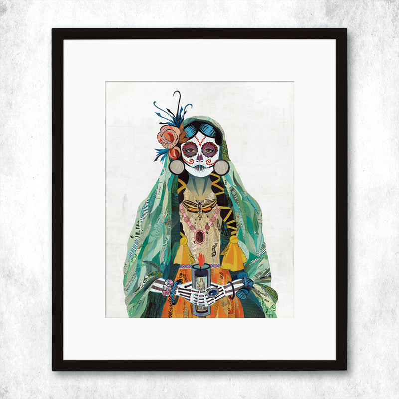 main image for WHSL - Señorita (Verde) Art Print