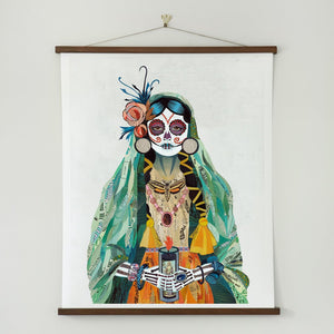 thumbnail for WHSL - Señorita (Verde) Art Print