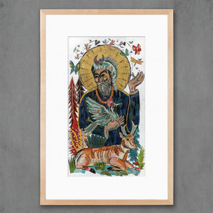 thumbnail for Saint Francis Art Print