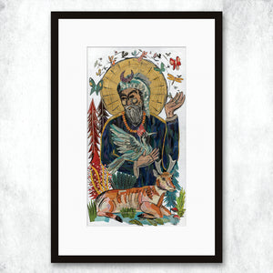 thumbnail for WHSL - St. Francis Art Print