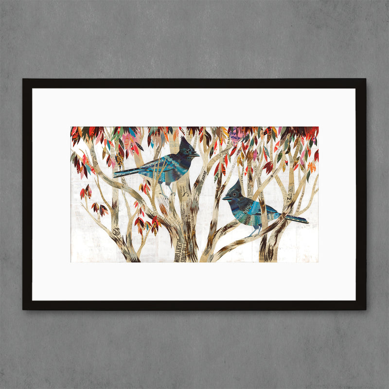main image for Steller's Jay Bird Art Print
