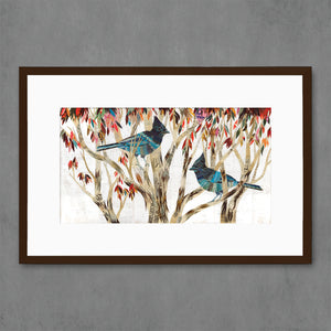thumbnail for Steller's Jay Bird Art Print