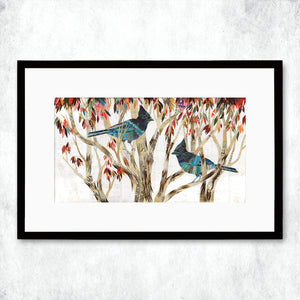 thumbnail for WHSL - Steller's Jay Art Print