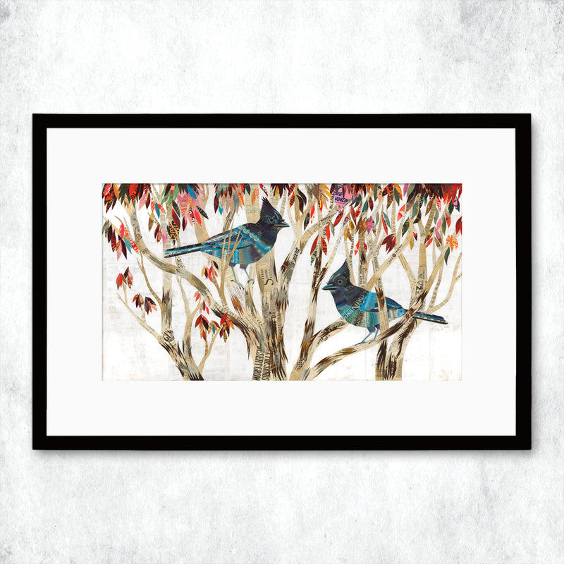 main image for WHSL - Steller's Jay Art Print