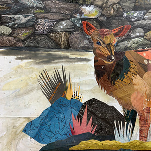 thumbnail for Stonewall Elk Original Paper Collage