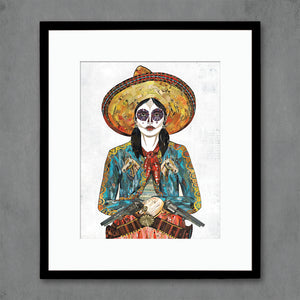 thumbnail for Cowgirl (Horses) Art Print