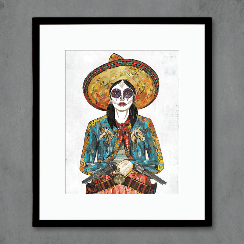 main image for Cowgirl (Horses) Art Print