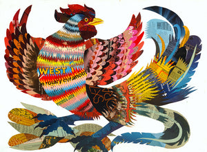 thumbnail for WHSL - Rooster Art Print