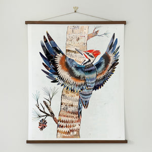 thumbnail for WHSL - The Great Woodpecker Art Print