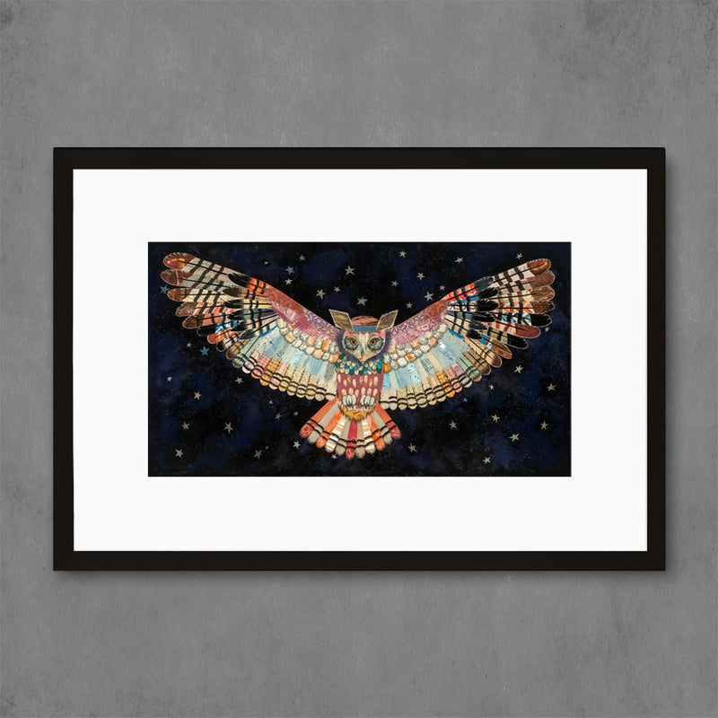 main image for The Protector II Owl Art Print