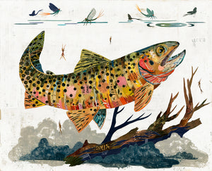 thumbnail for WHSL - Trout, Cutthroat Art Print