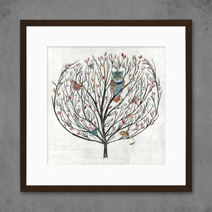 thumbnail for Tumbleweed-Tree of Life Art Print