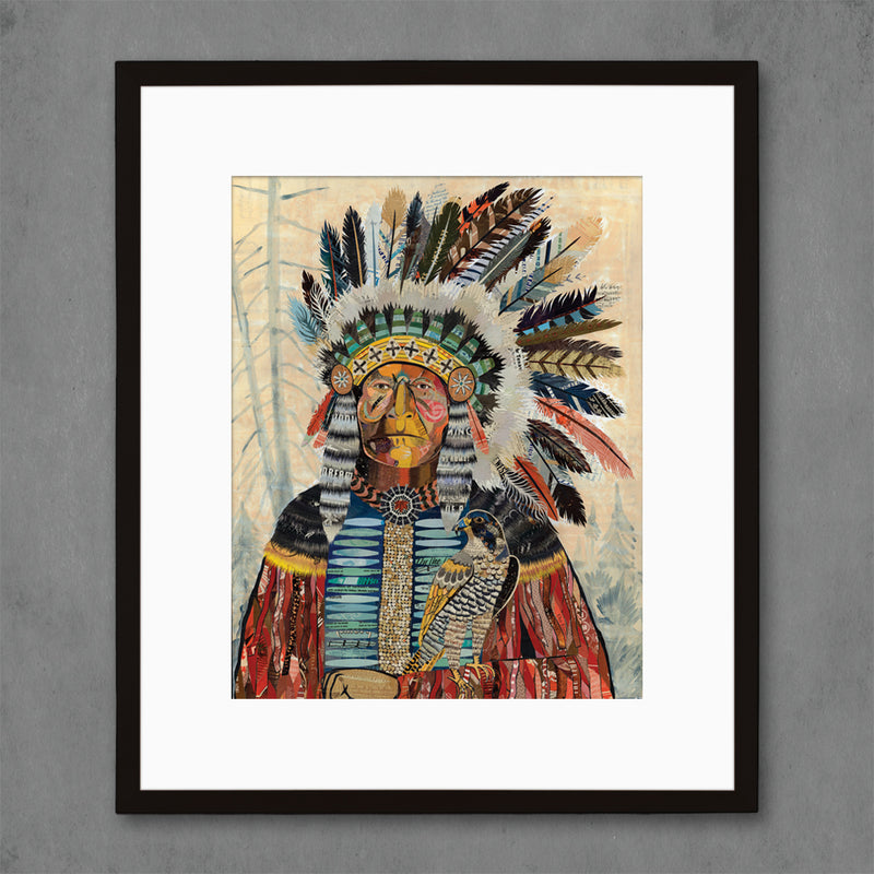 main image for Turning Point Native American Art Print