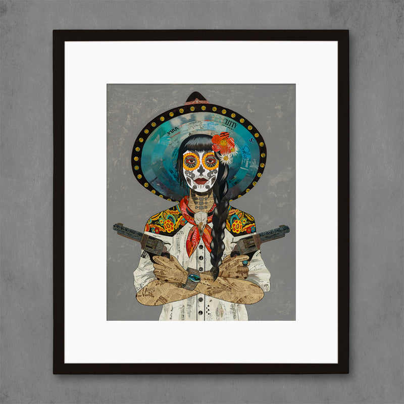 main image for Vaquera Sudoeste (Blanco) Art Print