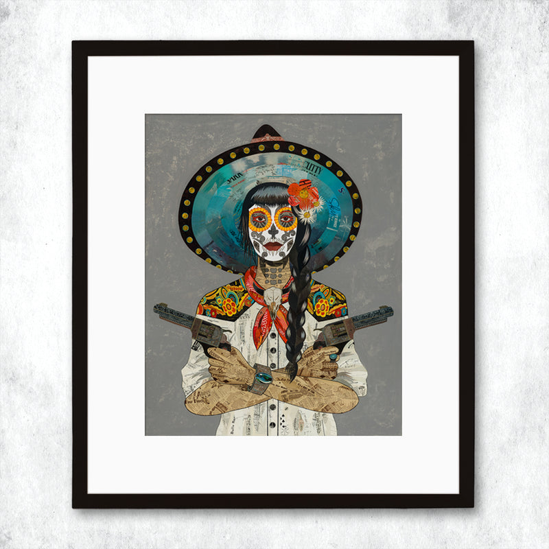 main image for WHSL - Vaquera Sudoeste (Blanco) Art Print