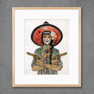 thumbnail for Vaquera Sudoeste (Painted Lady) Art Print