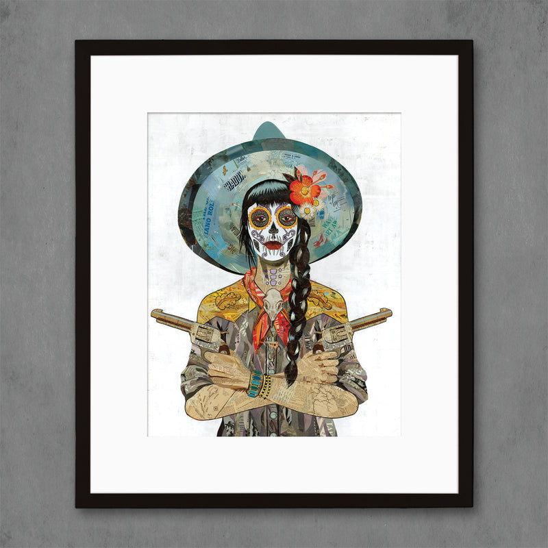 main image for Vaquera Sudoeste Art Print