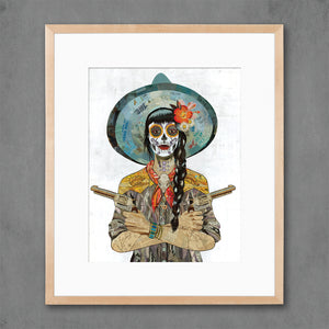 thumbnail for Vaquera Sudoeste Art Print
