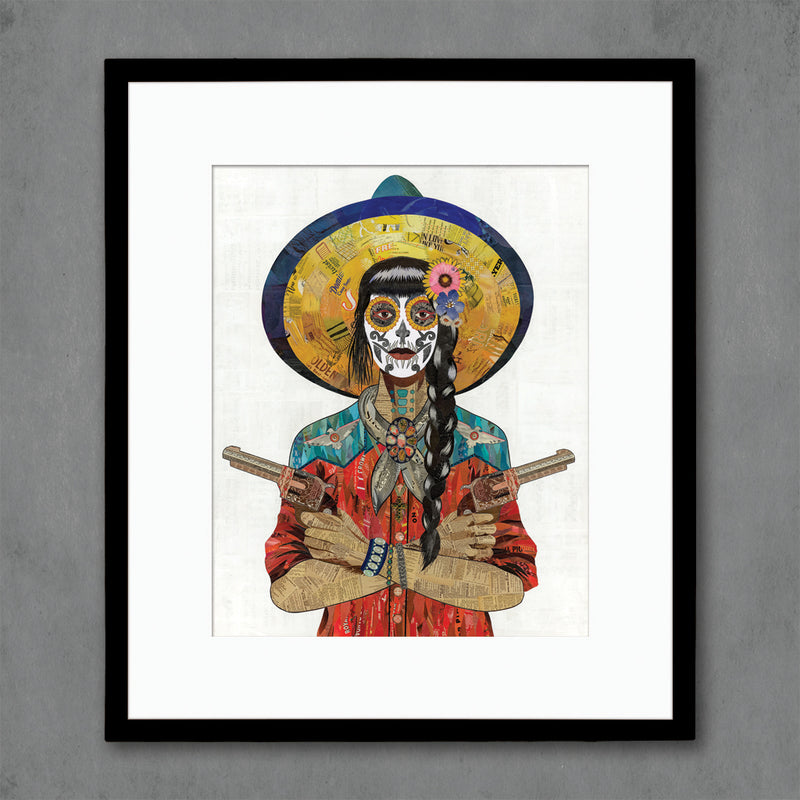 main image for Vaquera Sudoeste (Red) Art Print