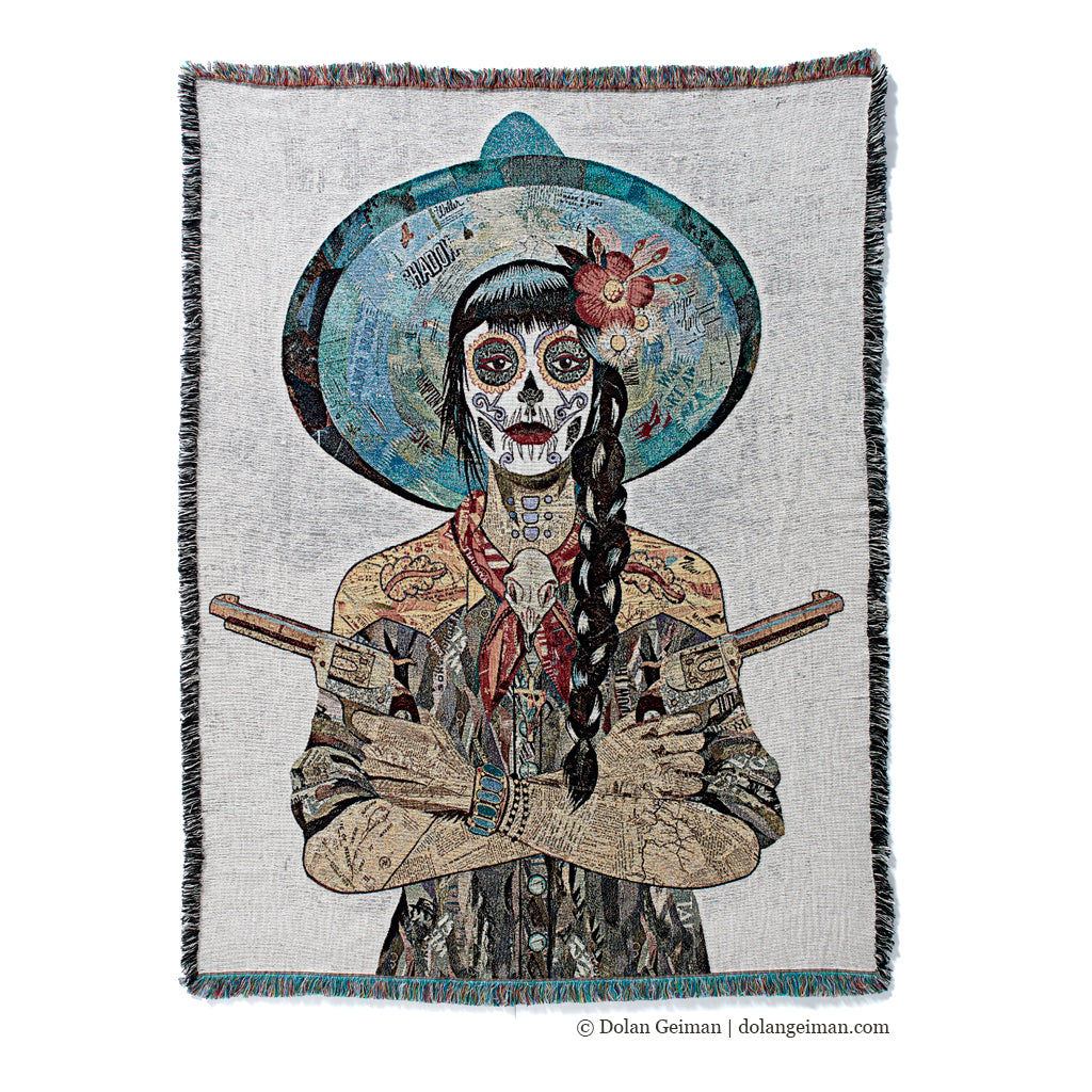 Vaquera Sudoeste Tapestry