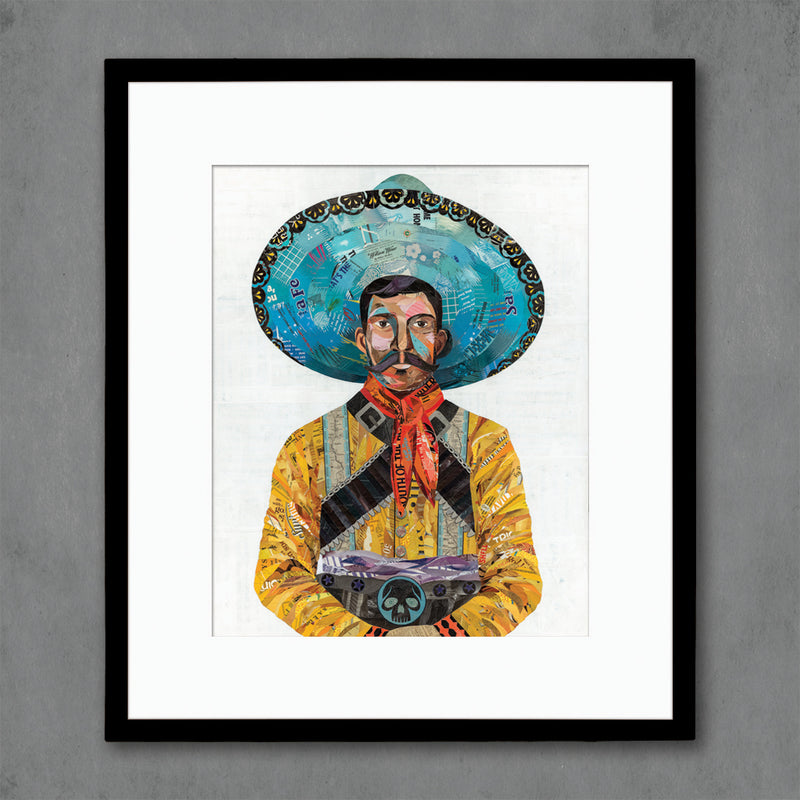 main image for Vaquero (Skull) Cowboy Art Print