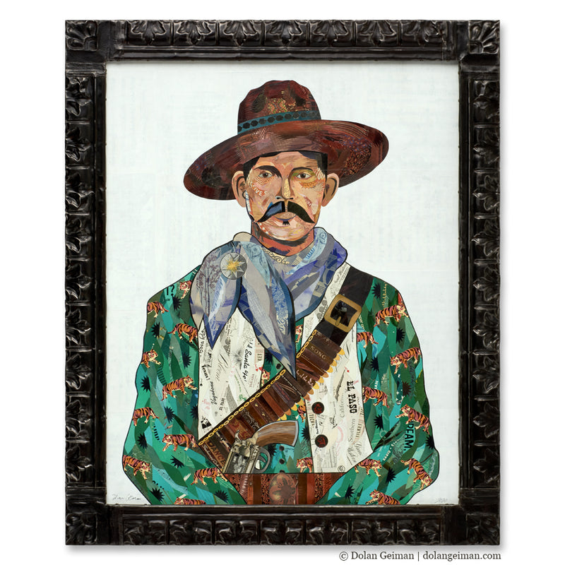 main image for Vaquero (Tigers) Original Paper Collage