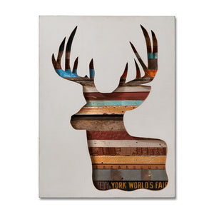 thumbnail for Virginia Den Custom Deer Head Silhouette Art