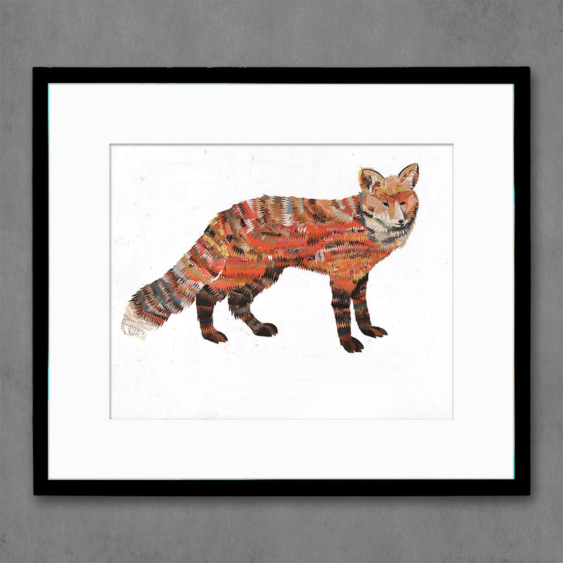 main image for Animals of North America: Red Fox Art Print