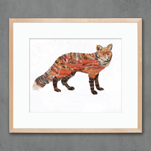 thumbnail for Animals of North America: Red Fox Art Print