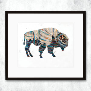 thumbnail for WHSL - Western Mammals Bison Art Print
