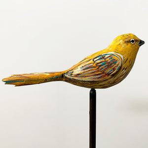 thumbnail for Small Works Event - Warbler Sculpture - Original by Dolan Geiman