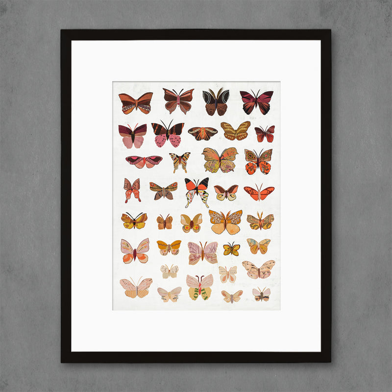 main image for Dawn Butterflies Art Print
