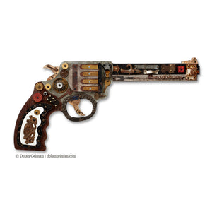 thumbnail for Industrial Wild West Mixed Media Revolver Set