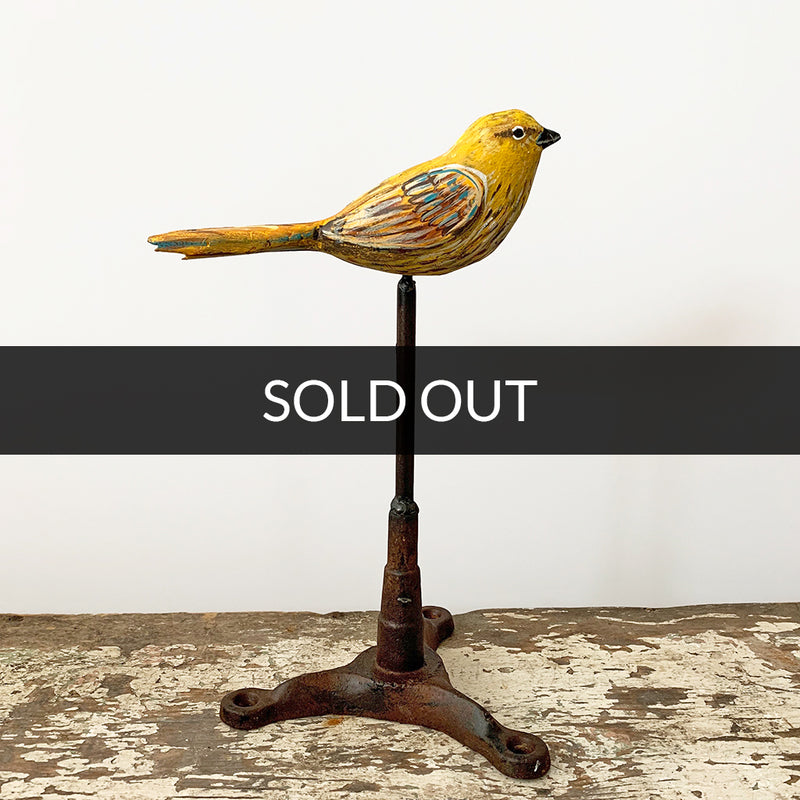 main image for Small Works Event - Warbler Sculpture - Original by Dolan Geiman