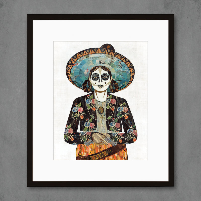 main image for Señorita Flores Art Print