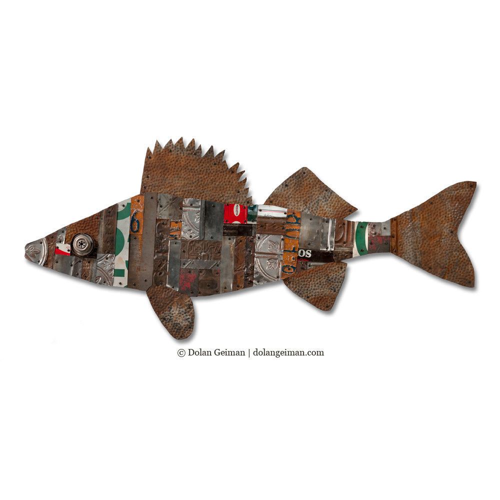 The Great Lakes (Walleye) Modern Cabin Decor