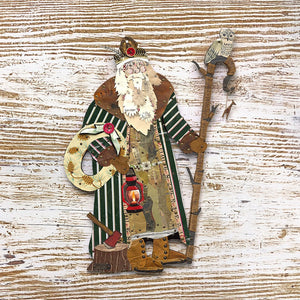 thumbnail for Santa Claus Metal Wall Hangings