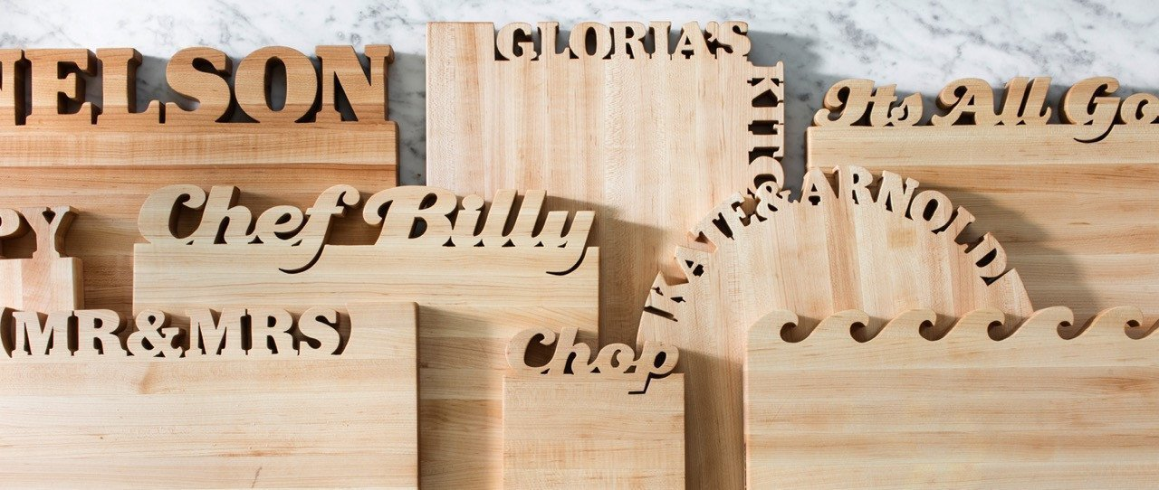 Cutting Boards for the person who has everything