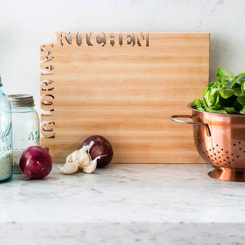 GIFTS THAT GIVE BACK - CUSTOM CUTTING BOARD