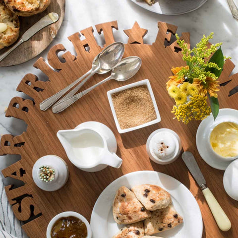 GIFTS THAT GIVE BACK - WOOD LAZY SUSAN