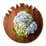 GIFTS THAT GIVE BACK - WALNUT CUSTOM LAZY SUSAN