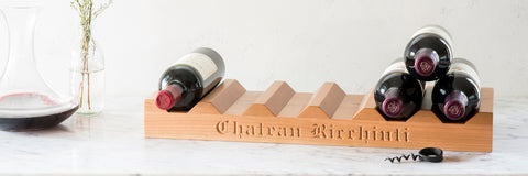 GIFTS THAT GIVE BACK - WINE RACK