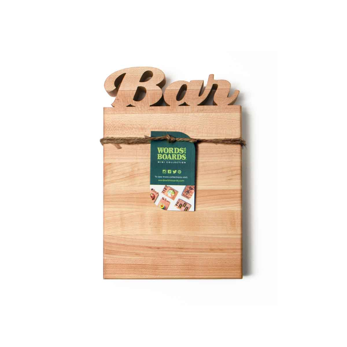 BAR CUTTING BOARD - WITH BOTTLE OPENER - 3