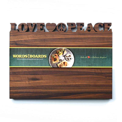 PERSONALIZED CUTTING BOARD - WORDS WITH BOARDS