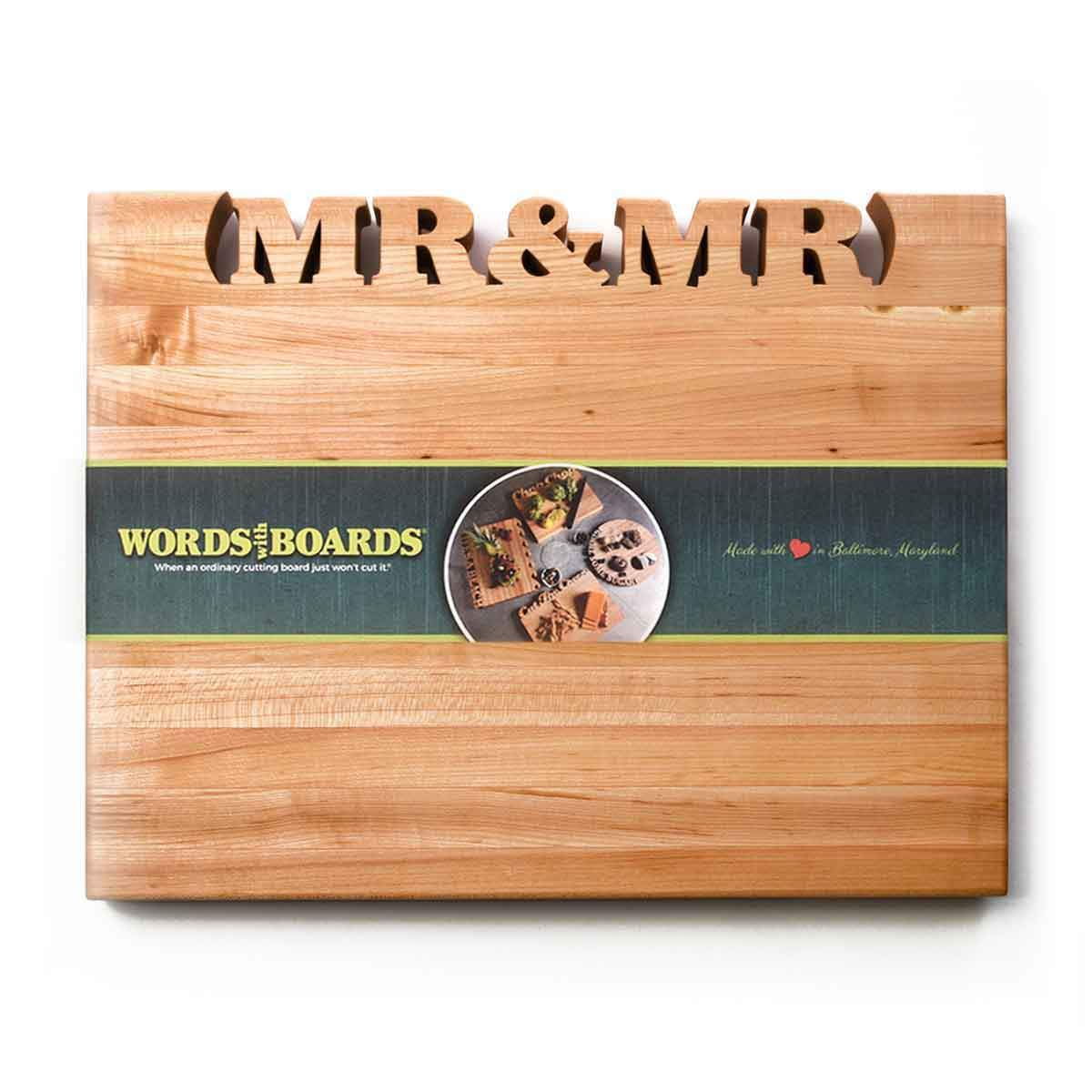 Unique Wedding Gifts: Wedding ideas for same sex partners - Words with Boards - 2
